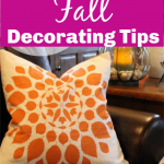 Frugal Fall Decorating tips