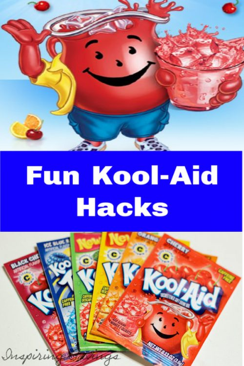 Kool-Aid isn't just a drink for kids anymore! Check out these different ways to use a packet of Kool-Aid, to do everything from cleaning to crafting.  It turns out that you can make a lot of useful and fun stuff with Kool-Aid. Here are some Surprising things you can do with a packet of Kool-Aid.