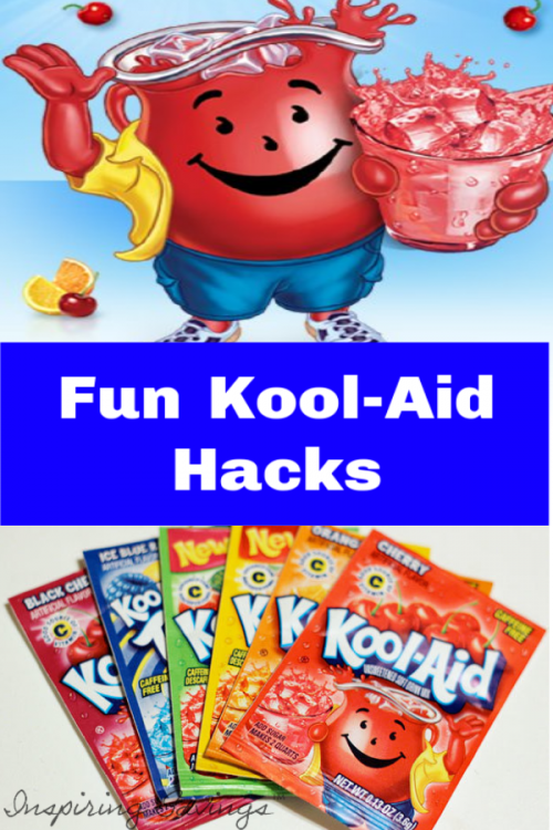 Kool-Aid isn't just a drink for kids anymore! Check out these different ways to use a packet of Kool-Aid, to do everything from cleaning to crafting.It turns out that you can make a lot of useful and fun stuff with Kool-Aid. Here are some Surprising things you can do with a packet of Kool-Aid.