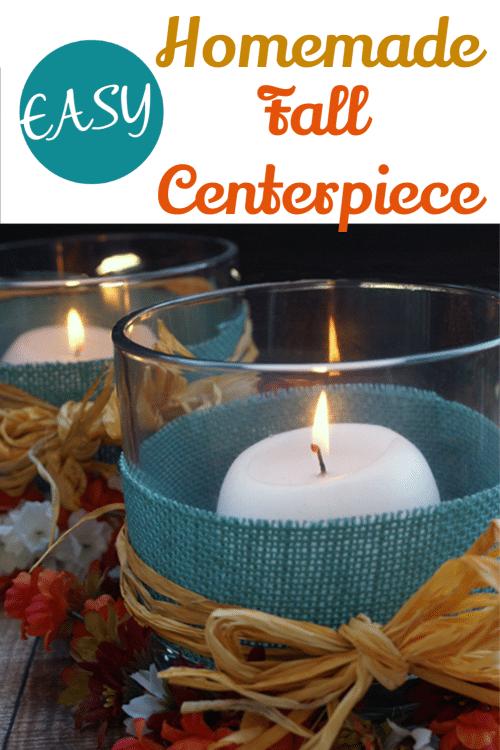 Homemade Fall Centerpiece