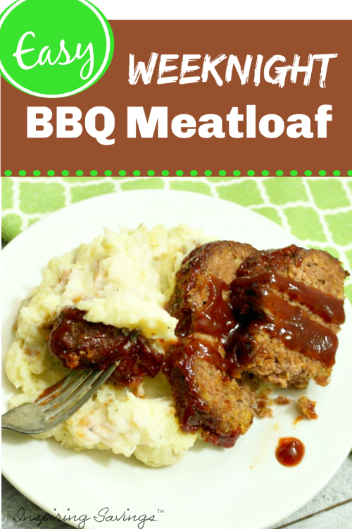 Easy Weeknight Barbecue on plate with mash potatoes