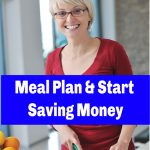 meal planning helping you to save more money