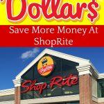 shoprites downtime dollar program