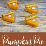 Mini Pumpkin Pies Made with Cheese Crackers