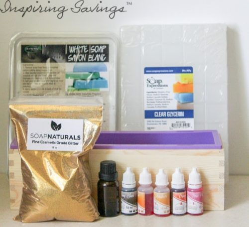 Supplies Needed for Homemade Pencil Soaps