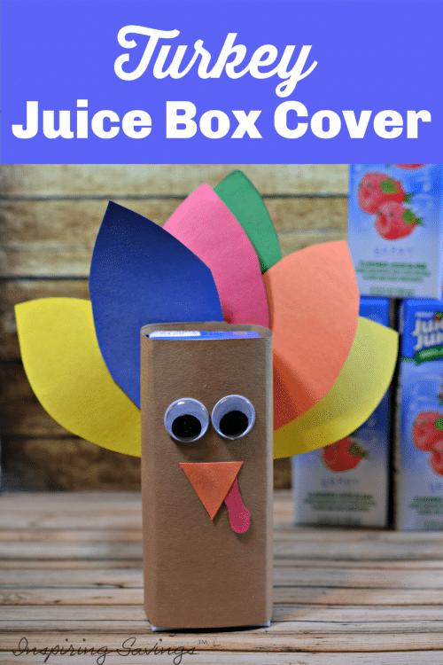 Turkey Juice Box Covers