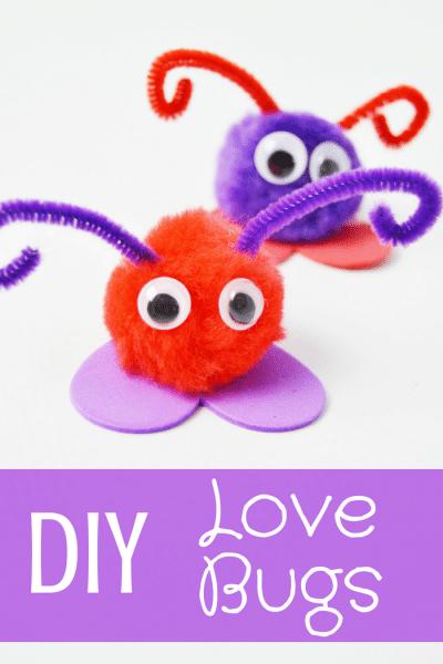 DIY Love Bugs Pinterest