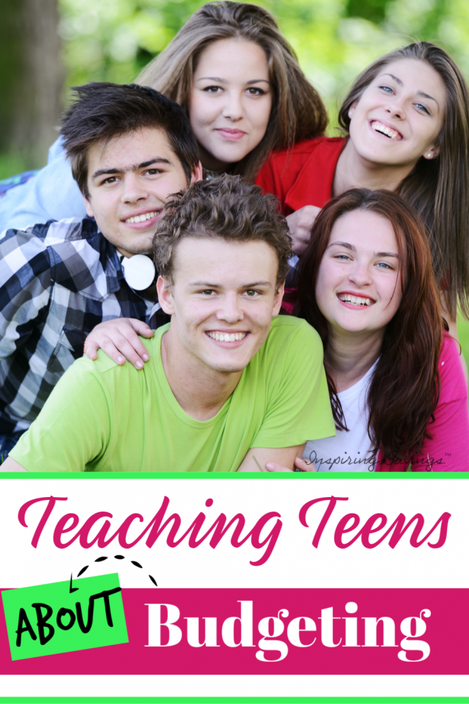 Teaching teens about budgeting