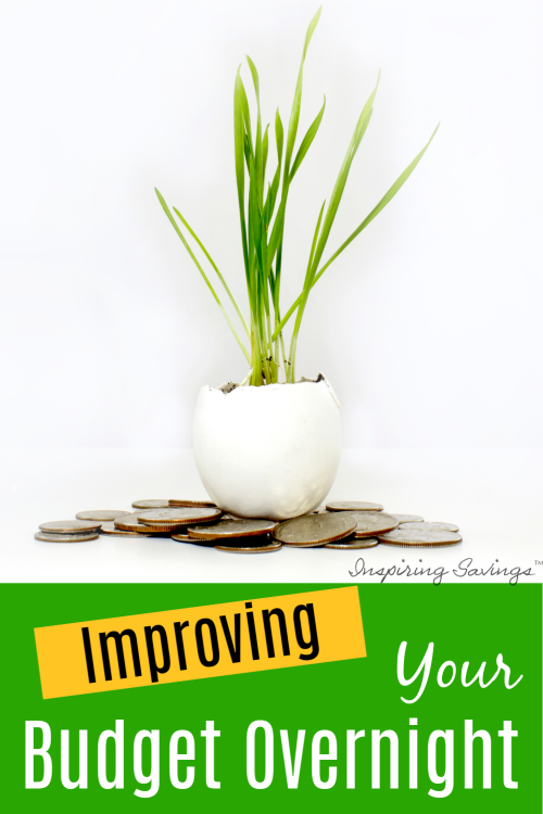 Improving Your Budget has never been easier! These tips will make an impact on your budget! Improving your finances can improve your entire life. It doesn't take much. Your journey to financial freedom is right around the corner.
