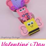 Adorable Valentines Day Paper Chain  e1580390374263