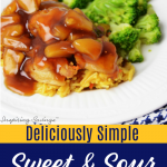 Simple and Easy Sweet and Sour Chicken e1579223806587