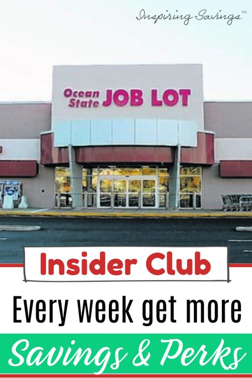 Ocean State Job Lot Store - Become an Ocean State Insider
