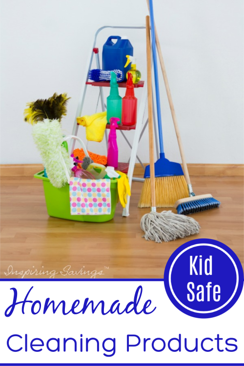 Homemade Cleaning Products - Kid Safe