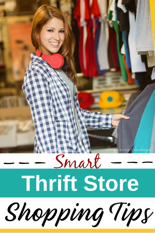 Lady Shopping at Thrift Store - Smart Thrift Store Shopping