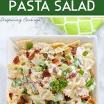bacon ranch pasta salad 1 e1585663043368