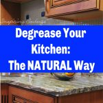 degrease your Kitchen the natural way