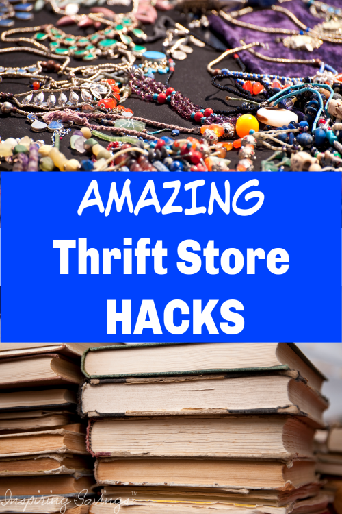 If you love thrift store finds, these 13 thrift store shopping hacks will help you take your bargain game to the next level #thrifting #thriftstores #clothesshopping #frugalliving