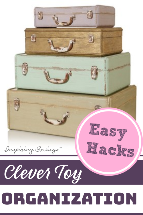 Easy Hacks - Clever Toy Orgization
