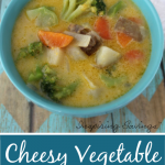 Cheesy Vegetable Chowder  e1587494588475