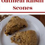 Healthy Oatmeal Raisin Scones 1 e1571926518931