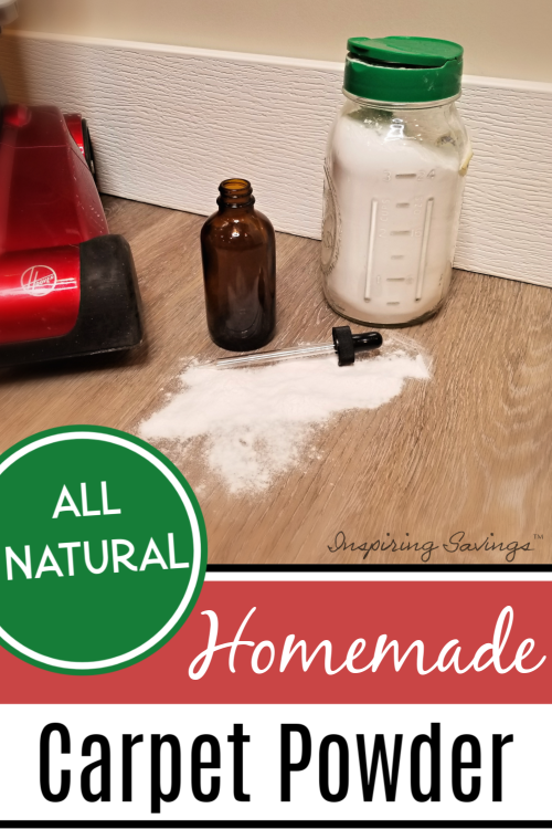 Easy Homemade Carpet powder ingredients