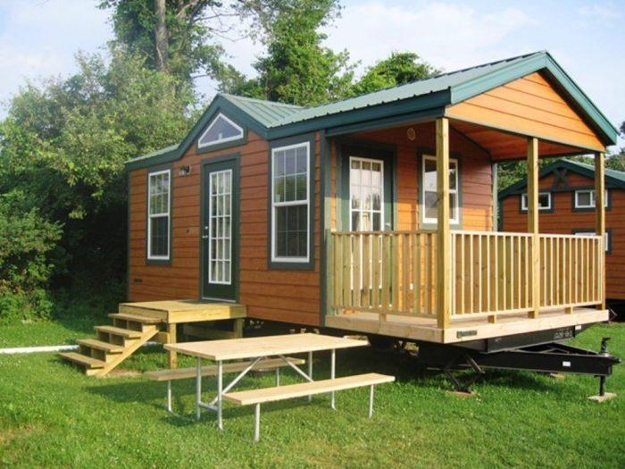 Cooperstown KOA campsite NY