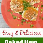 left over ham recipe baked Ham Sammies e1561559918365