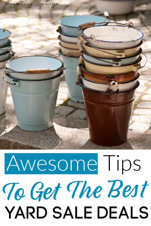 These Awesome tips will help you to get the very best yard sale deals