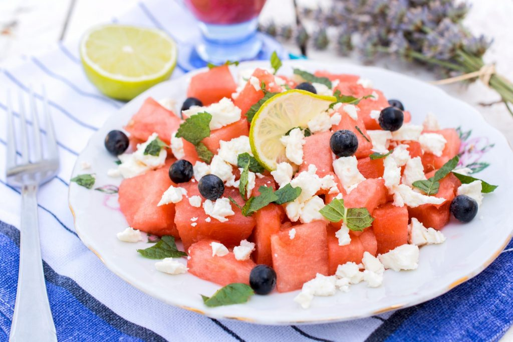 Watermelon and Feta Summertime Salad