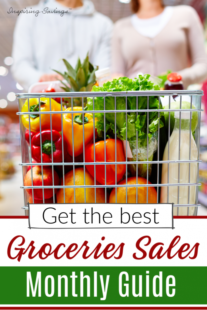 The Best Time to Buy groceries- A Month to Month Sale Cycles Guide