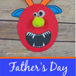 Fathers Day Monster Card