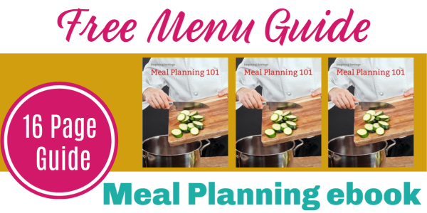 Free 16 page menu guide