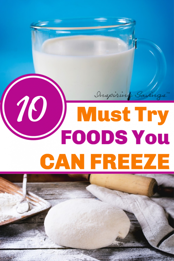 10 Must Try Foods You Can Freeze