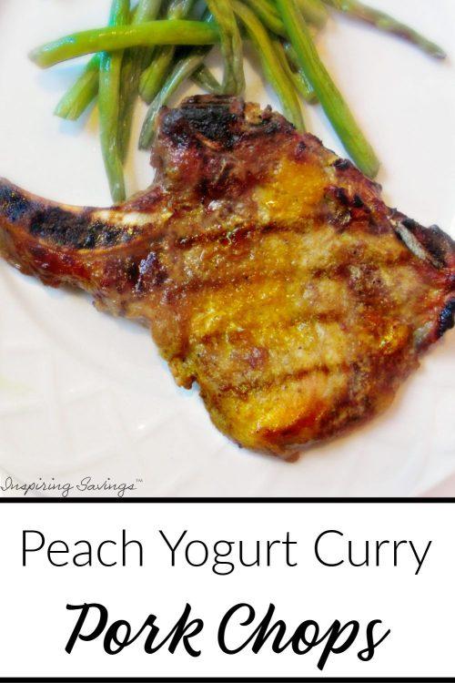 Peach Yogurt Curry Pork Chops Recipe