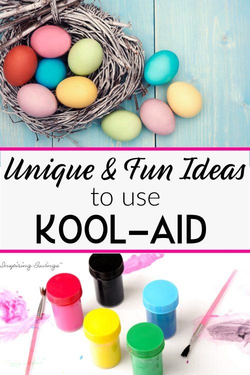 Unique & Fun Ideas to Use Kool-aid