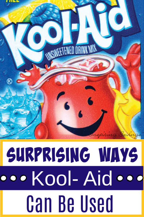 Surprising Things You Can Do With A Packet Of Kool-Aid