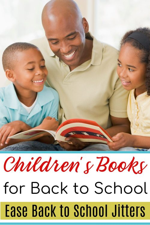 Children's Books to Ease Back to School Jitters