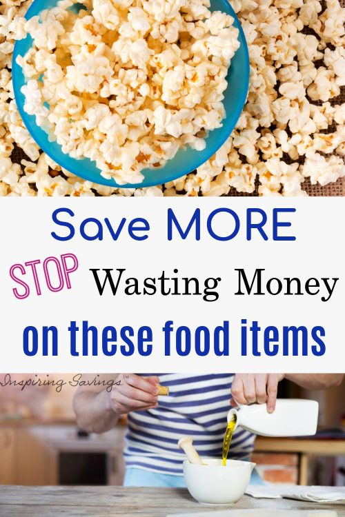 Save more - Stop Wasting money on these food items
