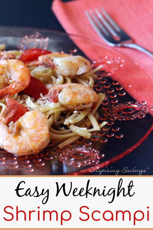 Easy Weeknight Shrimp Scampi Recipe - Make it in 15 minutes