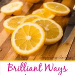 Use Leftover Lemons Around The House e1578935772893