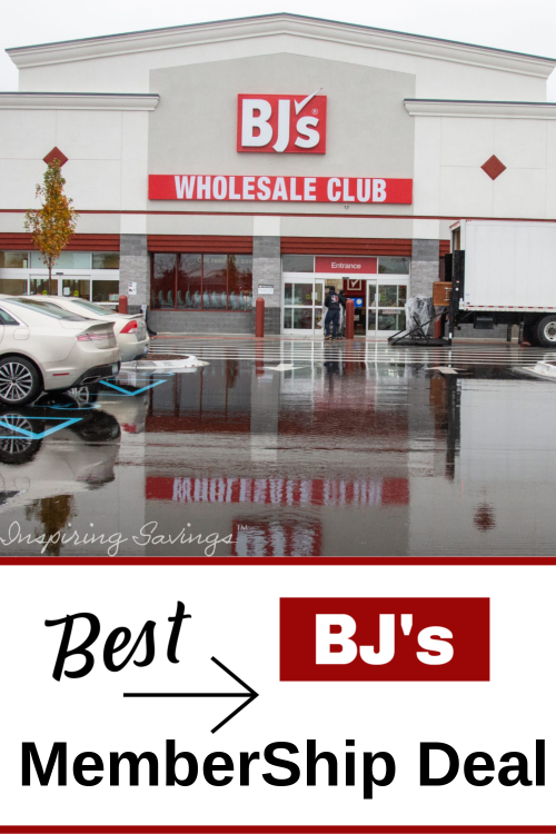 Bj's Membership deal - outside bj's wholesale store