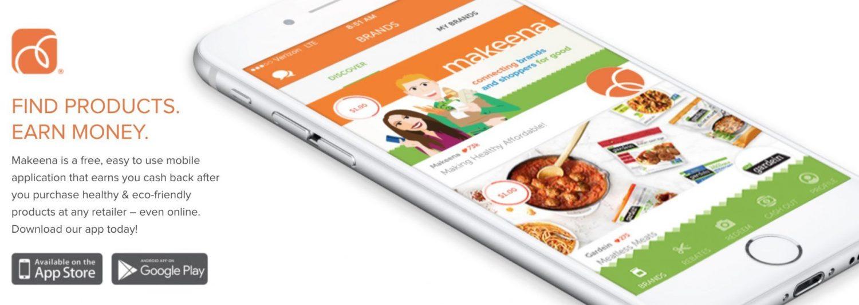 Makeena smartphone app
