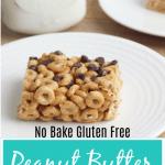 No Bake Peanut Butter Cheerio Bars Gluten Free e1576524766244