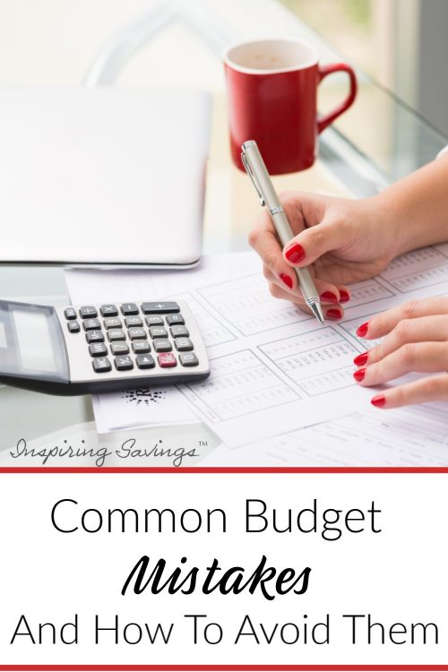 Common Budget Mistake and how to avoid them