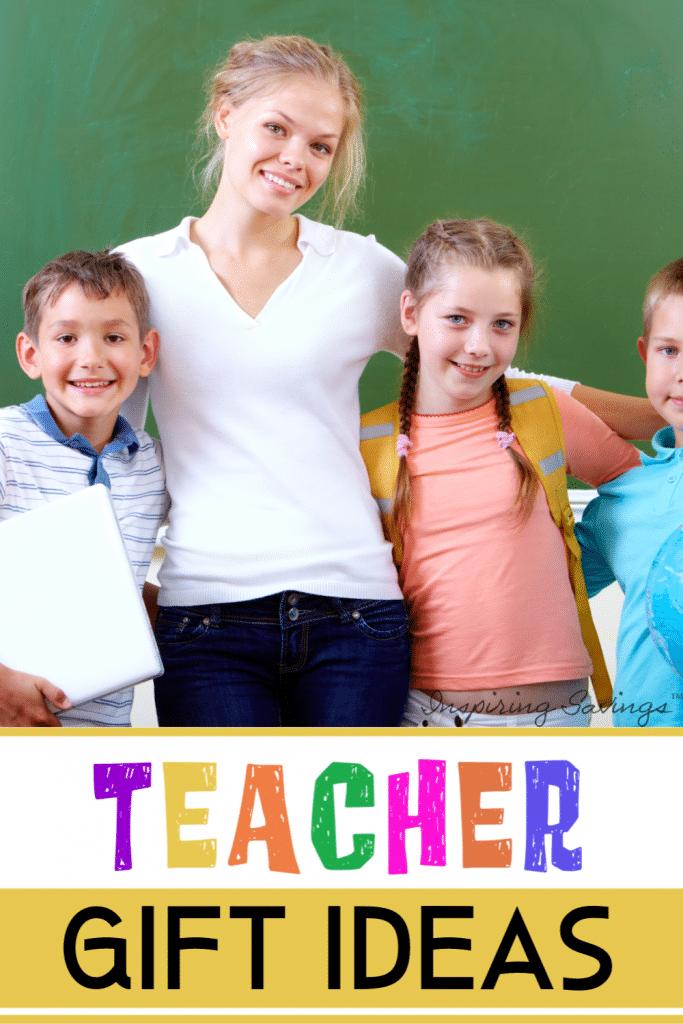 Teacher Gift Ideas - teacher with student