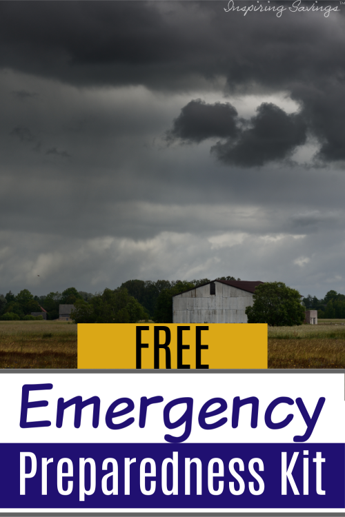 Right now you can create a free emergency preparedness kit. Save your family time and keep them safe by planning now. Get everyone on board.