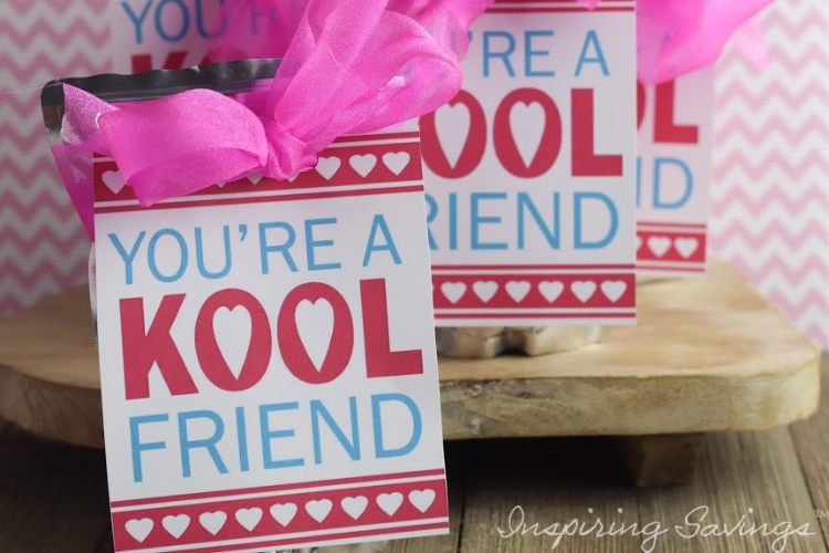 Kool Friend Card craft - Valentine's day Card