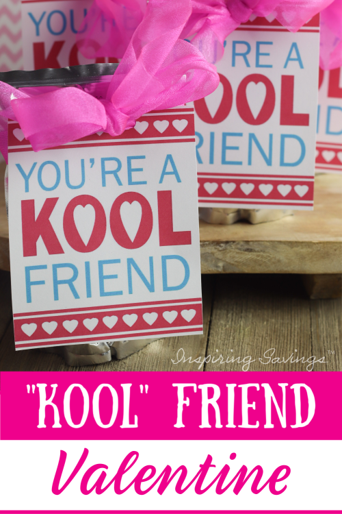 You're A Kool Friend Valentine's - Valentine's day Card