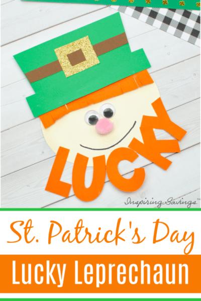 St. Patricks Day Lucky Leprechaun Craft e1580694876358