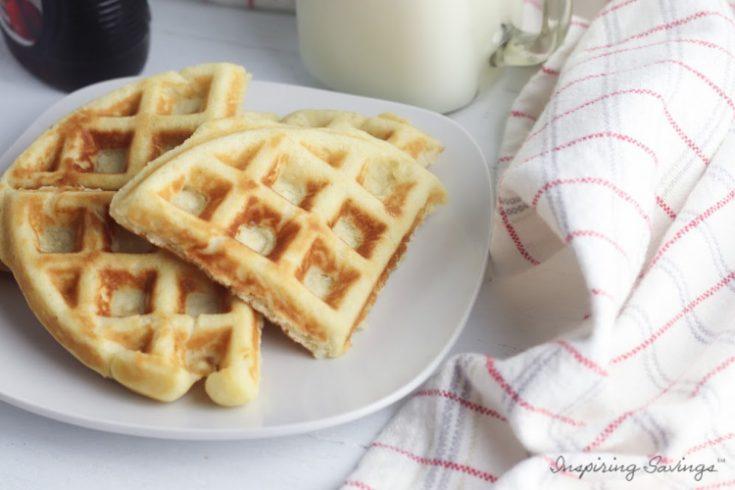Gluten Free Homemade Belgian Waffles